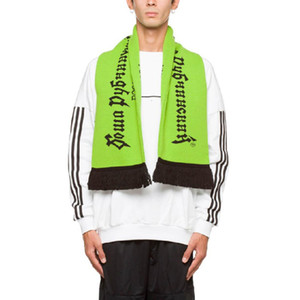 18FW Gosha rubchinskiy caldo sciarpa di lana russa sciarpa a maglia russa uomo uomo unisex inverno gratis abbigliamento accessori festival regalo HFYTWJ006