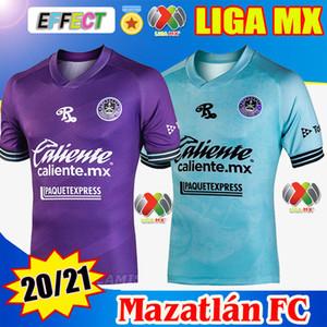2020 2021 Mazatlán FC Soccer Jersey 20/21 Mazatlan Home Viola Away Blue Ble Bite Quality Camiseta de Futbol Camicie da calcio Liax MX Kit
