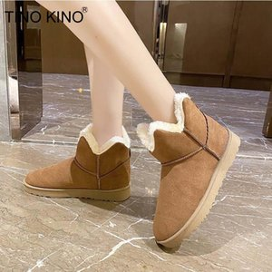 Women Snow Boots Winter Shoes Woman Casual Fur Warm Plush Non Slip Shoes Ladies Ankle Boots Fashion New Footwear Female