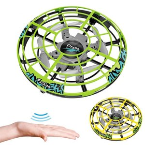Automatic obstacle avoidance Anti-collision Hand UFO Ball Flying Aircraft RC Toys Led Gift Suspension Mini Induction Drone