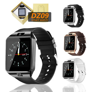 DZ09 Smart Watch Smart Wristband SIM Intelligent Sport Watch for Android Cellphones with TF Card retail box PK V8