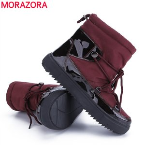2020 New Winter Boots Top Quality Women Snow Boots Thick fur insole Lady Warm Shoes Girl fashion Ankle Boots210