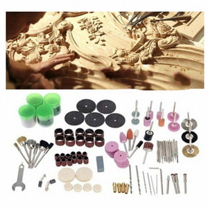 105Pcs DIY Rotary Tool Mini Accessory Electric Grinding Attachment Kit Durable and practical 3mm, 2.35mm i7pq#