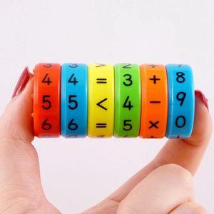 2020 مجموعة كاملة للأطفال لعب الأطفال المحور السحري الرياضيات المغناطيسي الذكاء الحسابي الألغاز الألغاز المتعلم التعليمية
