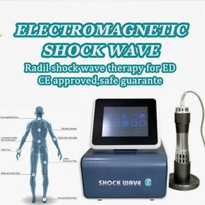 Hot Sale Strong Power And Stable Air Compressed Shockwave Therapy Machine For Pain Relief And Ed Treatment Body Slimming