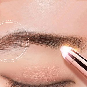 Electric Eyebrow Trimmer Lady's Eyebrow Shaver Shaping Knife Makeup Painless Eye Brow Epilator Automatic Eyebrow Shaping Knife