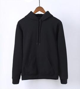 2020 Hot Sale Spring Kawaii Blank Women Sweatshirt Kpop Solid Hoodies Warm Fleece Harajuku Hooded Black White Gray Pink Red Blue