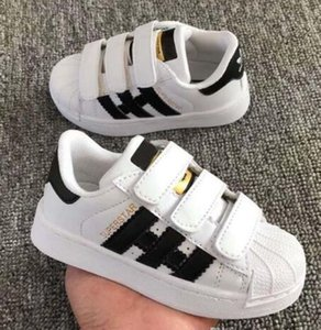 TOP quality sport shoes kids sneakers Casual shoes STAN SMITH SNEAKERS Children CASUAL running shoes SUPERSTAR 25-35