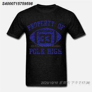 Propiedad de Polk Fútbol Casado Alta Parte 80 niños divertido Camiseta gris 17111510