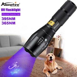 Seulfire G700 LED UV lampe de poche LED 365nm 395nm Lampe de torche en alliage d'aluminium ultra violet pour les scorpions d'ambre test d'urine animal
