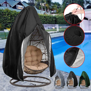 Egg Swing Chair Cover Chair case With Zipper Hanging Basket Protective Cover Dust Waterproof Outdoor Patio Hanging Chair Cover