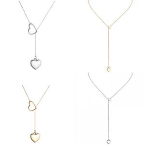 День сердца влюбленности женщин ожерелье ювелирных изделий гальваническим золота способа женщин цепи Металл ключицы Ожерелье Валентина 1 7BY J2B