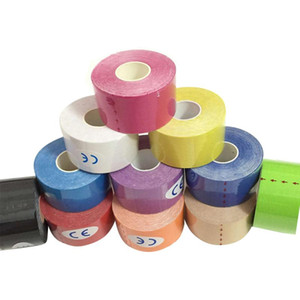 Sports Bandage Muscle Knee Pads 5M*5CM Kinesiology Tape Athletic Muscle Support Sport Physio Therapeutic Tape