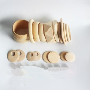 Braccialetti di Braccialetti in legno incompiuto di Design misto sanshoor Set di braccialetti fatti a mano fai da te gioielli artigianale1