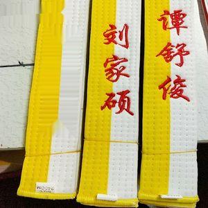 txoYI judo karate examination belt promotion Taekwondo promotion embroidered judo karate Taekwondo examination embroidered belt Q2mOg
