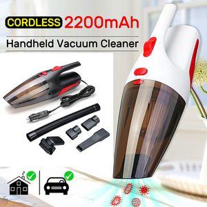 Neue LED-Auto-Staubsauger 120W tragbarer Hand-Staubsauger nasser und trockener doppeltes Gebrauch Auto-Vakuum-Aspirateur Voiture 12V neu ankommen