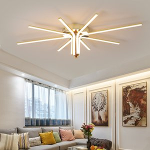 Modern ceiling led ceiling light for living room bedroom Restaurant kitchen led ceiling lamp gold Chrome Indoor lighting Fixture