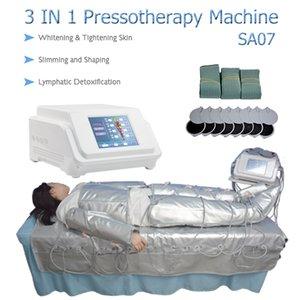 3 in 1 uzak kızılötesi profesyonel pressotherapy kan dolaşım bacak makine vücut zayıflama lenfatik metabolik terapi sistemi