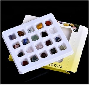20-in-1 Kombinasyon Takım Doğal Kaya Kristal Mineral Takı Ev Ev Dekorasyon Çalışma Odası Dekorasyon Koleksiyonu Jllase