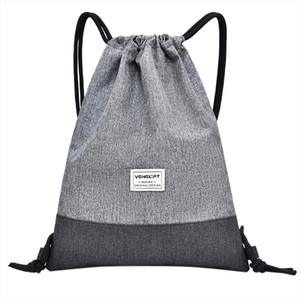 Handbags Oxford women men bags 2020 Beach Bag Outdoor Fitness Sport Bag Bundle Pocket new Unisex Drawstring packages9419