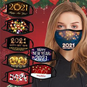 yılbaşı yüz yeni yıl moda tasarımcıların fişek yüz maskeleri sıcak satış siyah maske kişiselleştirilmiş Noel maske toz geçirmez maske