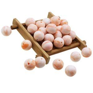 Perline in silicone 10mm BPA free 15mm colori rotondi colori in silicone teati da 100pcs perline per ciuccio fai da te set allentato 12mm
