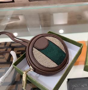 패션 라운드 케이크 제로 지갑 21 새로운 디자이너 편지 레트로 동전 추구 가방 수석 아가씨 shdlle 어깨 가방 wf2101281