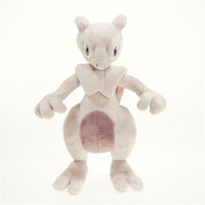 Neues Spielzeug Mewtwo Weiche Puppe Plüsch Mew Spielzeug für Kinder Weihnachten Halloween Beste Geschenke 11 Zoll 28cm