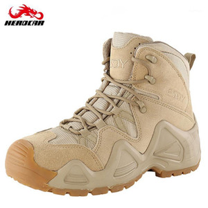 ESDY Motorcycle Boots Motobiker Riding Boots Non-slip Special Force Tactical Desert Combat Army Work1