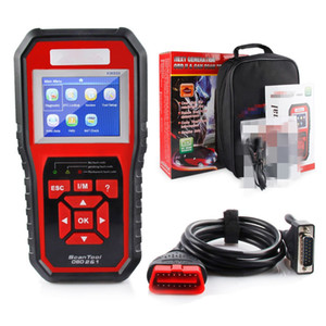 New OBD2 EOBD Automotive Check Engine Erase Car Code Reader Diagnostic Scanner KW850 With Retail box UPS DHL Free Shipping