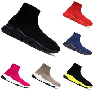 2020 BB Speed Stretch High Top Breathable Sports Sock Shoes speed Traine Buffer Rubber Speed Stretch Jogger Shoes Size:36-45