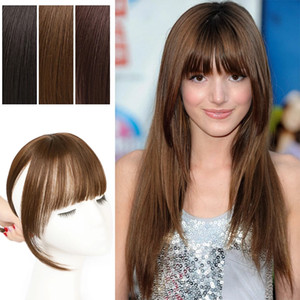 Lady Beauty 360 Invisible Finge Bangs Hair Transparent Lace 3D Bangs Clip In Air Bang Fringe Hair Extensions Hairpiece