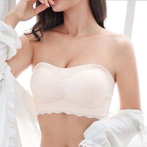 여성 섹시한 Strapless 브래지어 Staniki Damskie 여성 속옷 보이지 않는 Brasier Mujer Bralette Plus Size Bra Bra 새로운