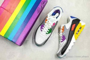 New Be True 2019 Rainbow Cj5482 -100 Betrue Mens Running Shoes Sneakers Classic Designer Sports Trainers Chaussures 90s Shoes Wiht Bo