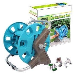 Lega di alluminio Water Garden Hose Reel Carrello Holder