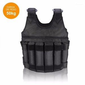 FDBRO 2020 New Fitness Equipment Adjustable Fitness Weighted Vest Exercise Training Jacket Gym Workout Boxing Waistcoat1