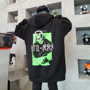 Women Fluffy Hooded Hoodies Warm Velvet Blend Sweatshirt Korean Graphic Baggy Plush Pullover Fleece Coat Fur Top Swearshirt Chic1