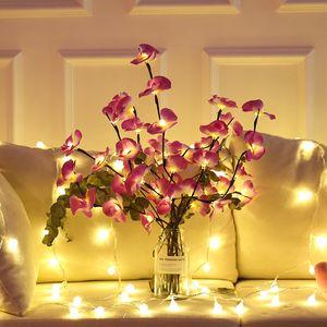 أدى داخلي تزيين شجرة مصباح الأسرة دراسة الأسرة نوم الكرز الملونة أضواء الأصلي فرع ليلة ضوء جديد المنتجات الجديدة 11 58HH J2