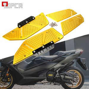 Motorcycle Modified CNC Footboard Steps Footrest Pedal Foot Plate For Yamaha Tmax Tech Max TMAX 560 2020