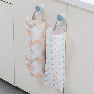 Kitchen Oxford Hanging Storage Bag Dispenser Reusable Grocery Potatoes Garlic Organizer Holder Garbage Bag x9ef#