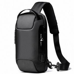Suutoop Lock Anti-Robo Hombres Impermeable Oxford Multifunción Multifunción Crossbody Bolsos Bolsos Sling Messenger Cour Bag Pack para hombre # DT2Q