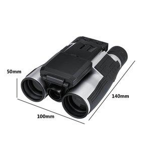 Schermo LCD 1080p 5MP 12X HD Camera Telescope Binocolo Foto videocamera digitale 96m / 1000m COMS USB registrazione del sensore