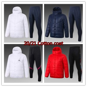 20 21 Paris Down Jacket Hoodie Verratti Sweater Sportwear Jorden Tracksuit Casaco de Algodão MBappe Icardi Camisa de Futebol Roupas de Inverno