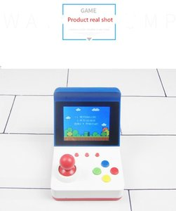 New listing RS-12 mini FC game console handheld nostalgic double rocker rechargeable appearance compact