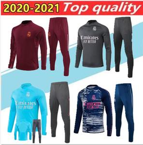 20 21 Real Madrid футбольный спортивный тренер Chandal 2020 CamiSeta de futbol опасность бензема модрик футбол тренировочный костюм бег