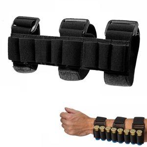 Тактическая охота на 8 раундов Ammo Handgun Holder Holder Holder Barry Black Shoots Frearm рукав Mag Coch
