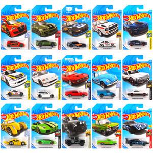 1-72 Pcs Original 1:64 Hotwheels Children Simulation Metal Mini Racing Kids Taxiing Alloy Model Toy Car Set Oyuncak Boy Gift