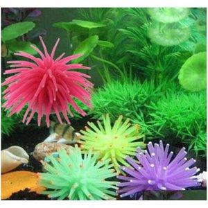 Sile Aquarium Fish Tank Artificial Coral Plant Underwater qylLSC packing2010