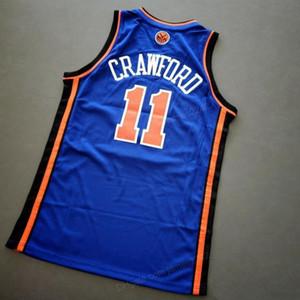 Ucuz Custom Retro Jamal Crawford # 11 Koleji Basketbol Jersey Erkekler Dikişli Mavi Herhangi Boyut 2XS-4XL 5XL İsim Veya Numara Jersey