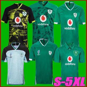 20 21 Ireland Rugby Jerseys 2019 Copa do Mundo Ireland equipe nacional de rugby Casa Fora jaqueta camisa de rugby POLO colete S-3XL 4XL 5XL